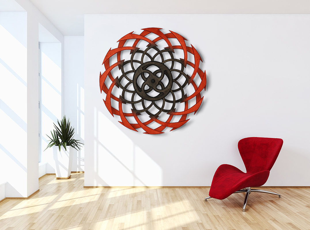Kinetic Sculpture Ripple by Ryan Kvande