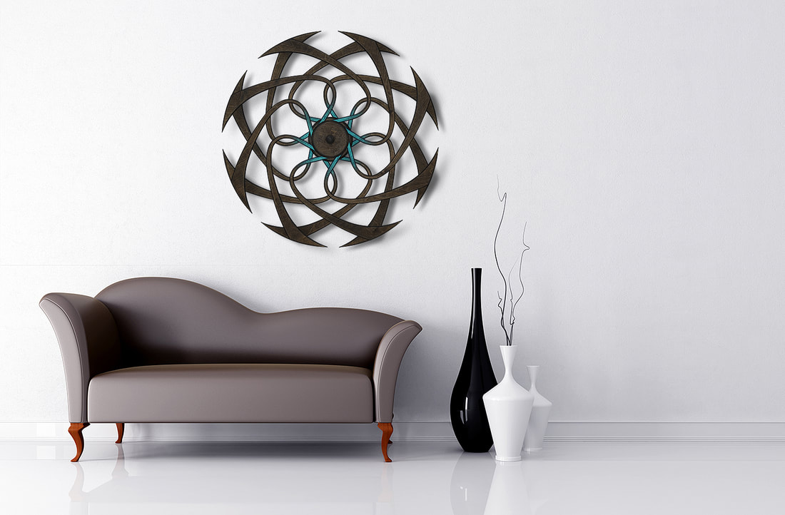 Kinetic Sculpture Twist by Ryan Kvande