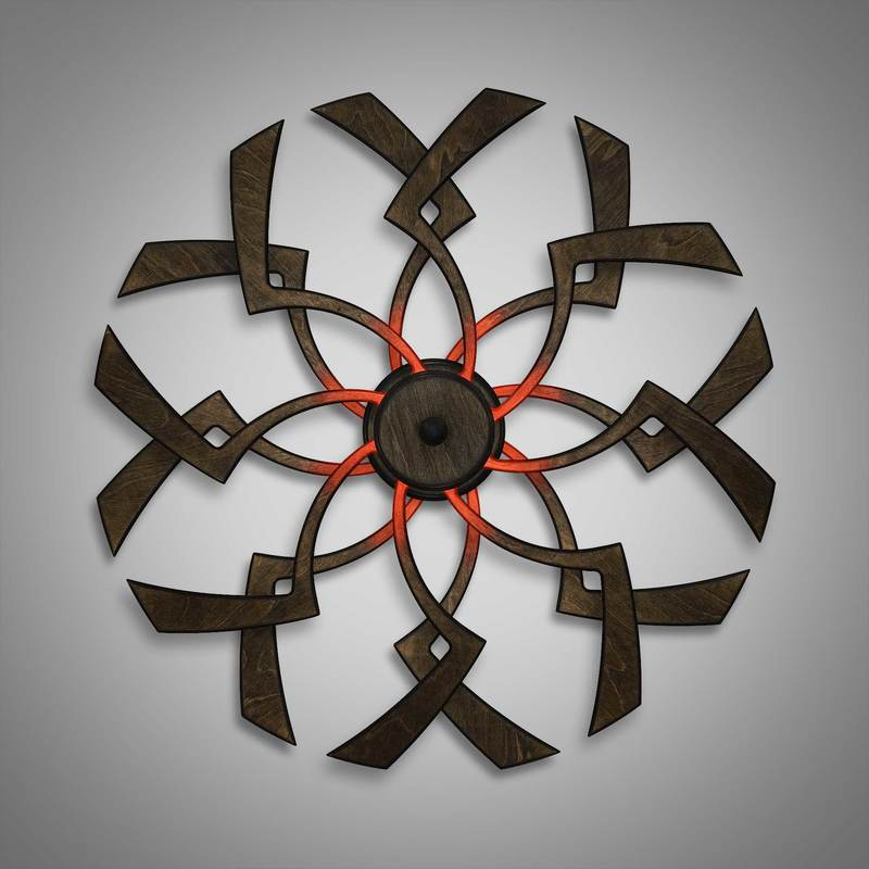 Kinetic Sculpture Zip Red by Ryan Kvande
